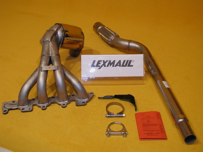 Lexmaul Exhaustmanifold With Integrated Sport Catalytic Converter For Opel Vauxhall Corsa C Meriva A Tigra B Twintop 18i 16v: Opel Corsa Catalytic Converter At Woreks.co